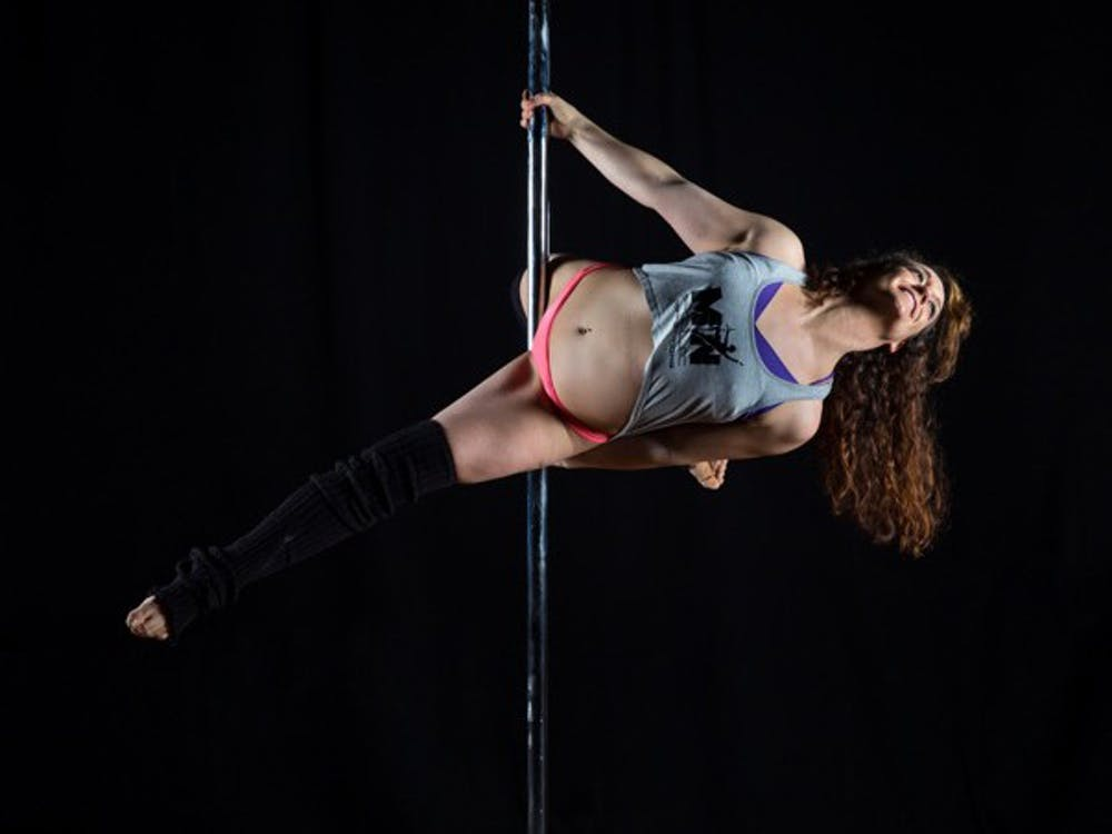 The art of dancing — on a pole