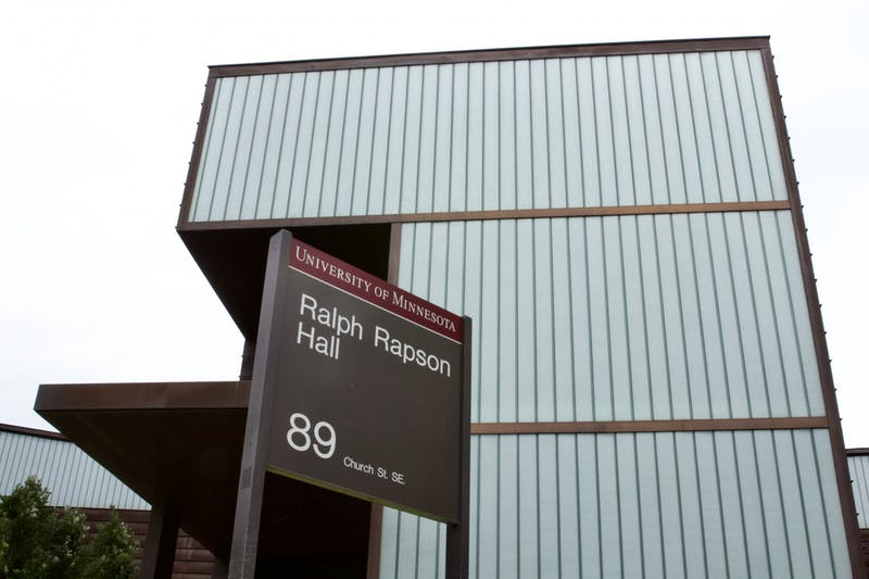 Ralph Rapson Hall, home to the University of Minnesota's architecture program, seen located on Church Street Southeast on Wednesday, July 15, 2020.