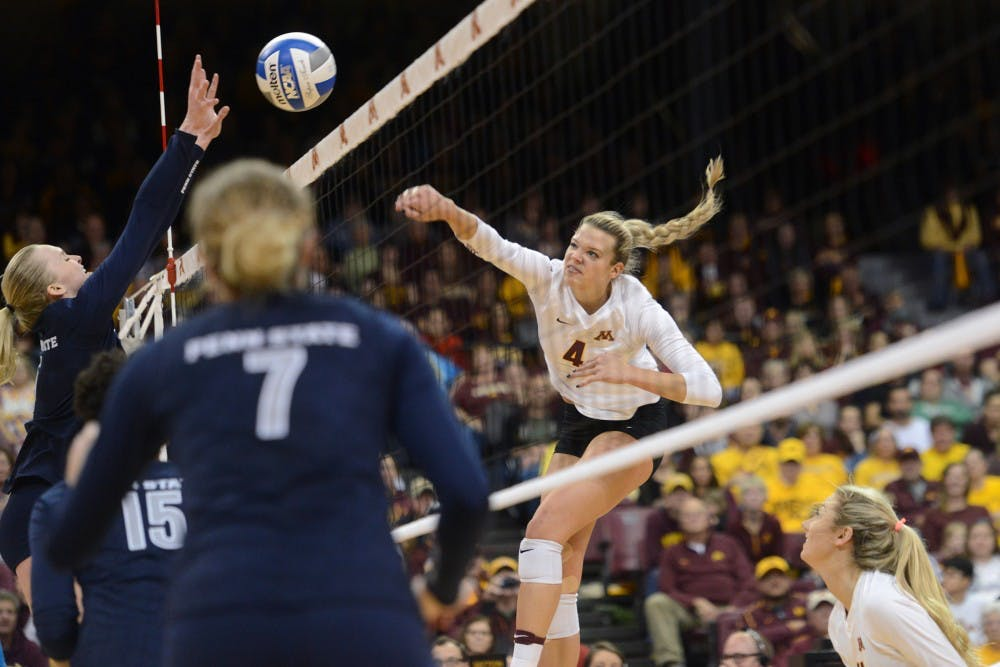 Five former Gophers volleyball players earn spot on U.S. National team roster