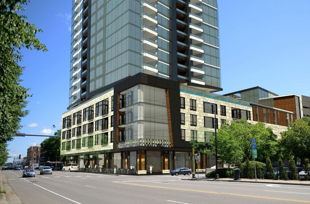 Group files lawsuit over proposed 42-story St. Anthony Falls tower