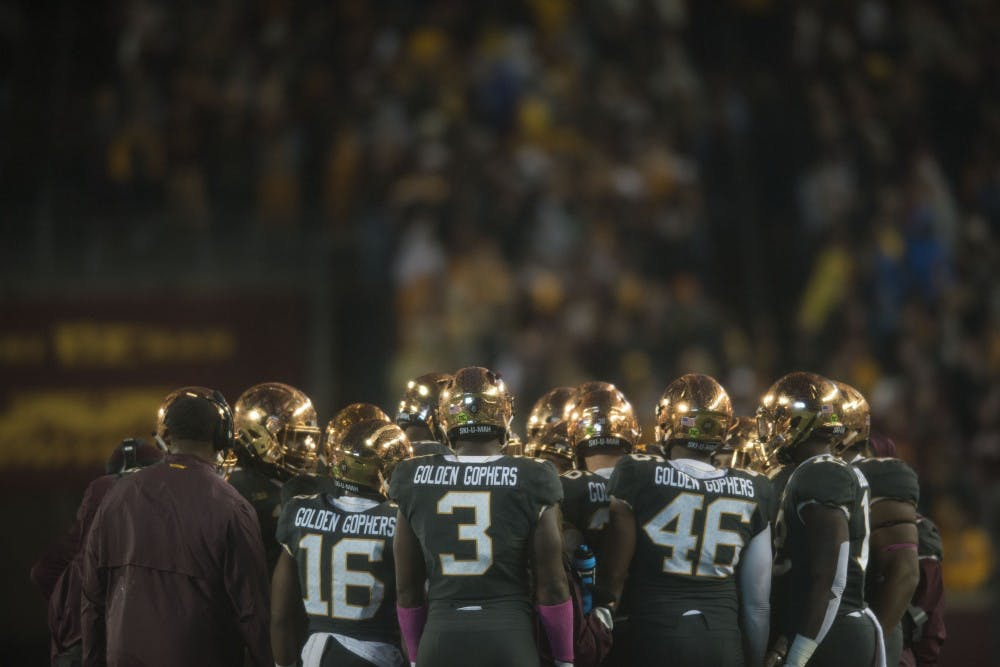 Gopher football players' lawsuit heard in District Court