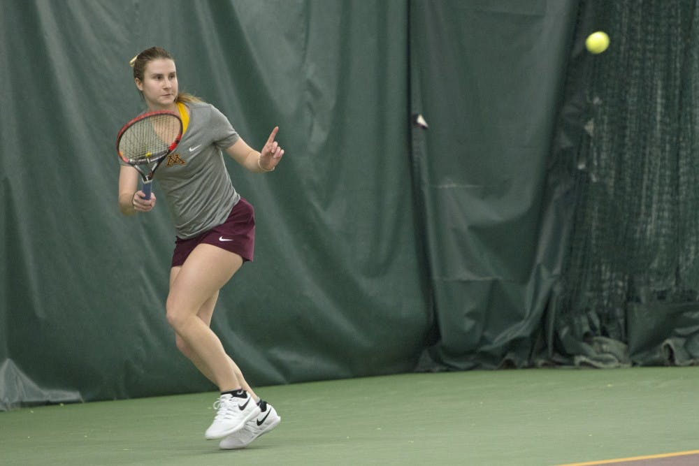 Gophers fall in the championship of the Courtside Classic