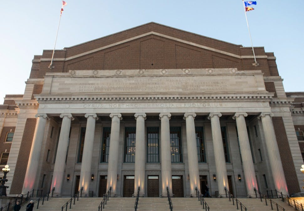 Northrop Auditorium to host NFL Honors show during Super Bowl weekend