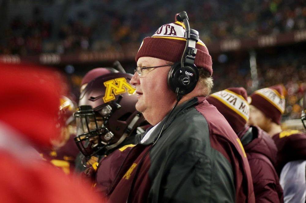 Reports: Former Gophers head coach Tracy Claeys named Washington State's defensive coordinator