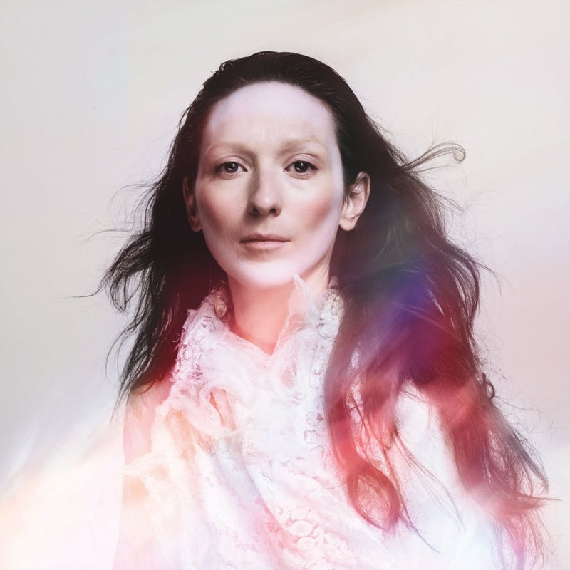 "Shara Worden poses for the album cover of My Brightest Diamond's fourth album, ""This Is My Hand."""