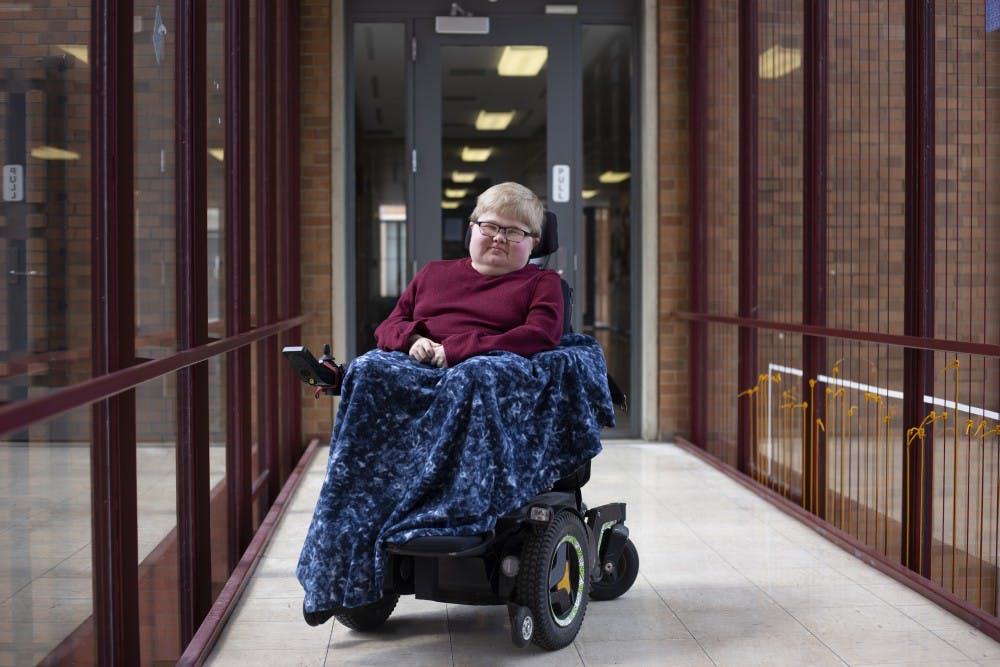 Day-to-day life differs for those with disabilities at the University