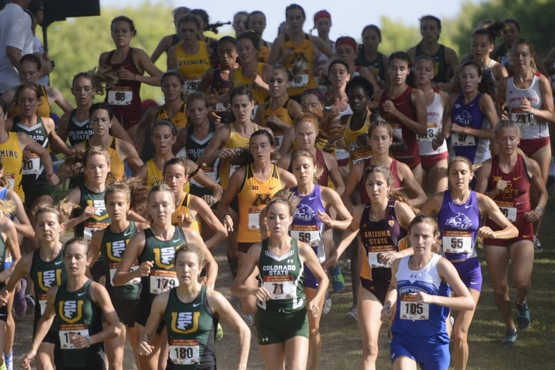 The Gophers women's cross country team competes against other Division I teams at the Roy Griak Invitational at the Les Bolstad Golf Course on Saturday, Sept. 23 in St. Paul.