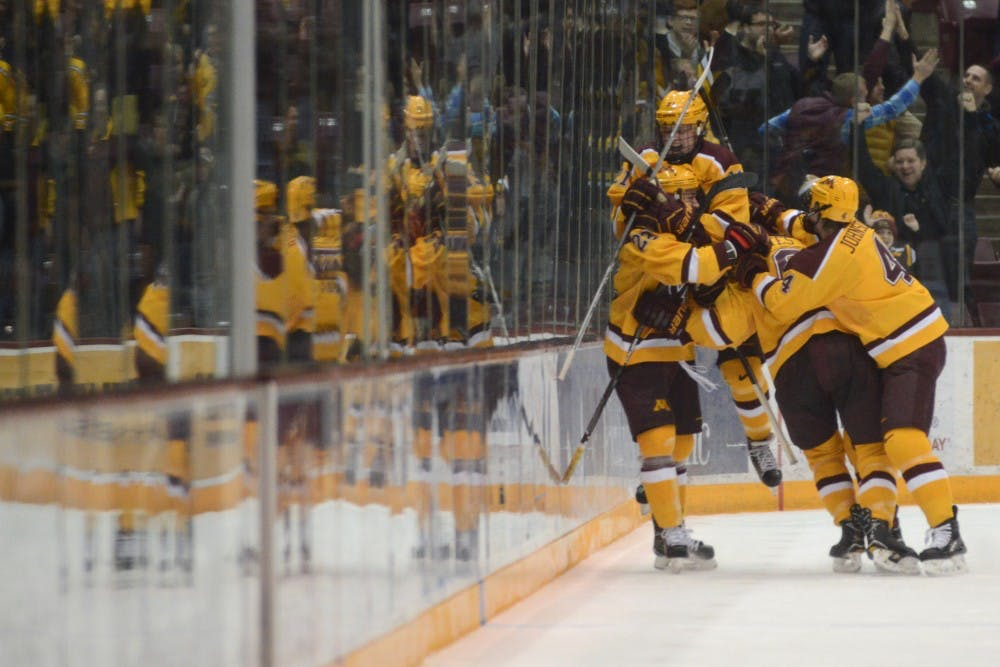 After trailing for the first time all month, Gophers pull off sweep over Harvard