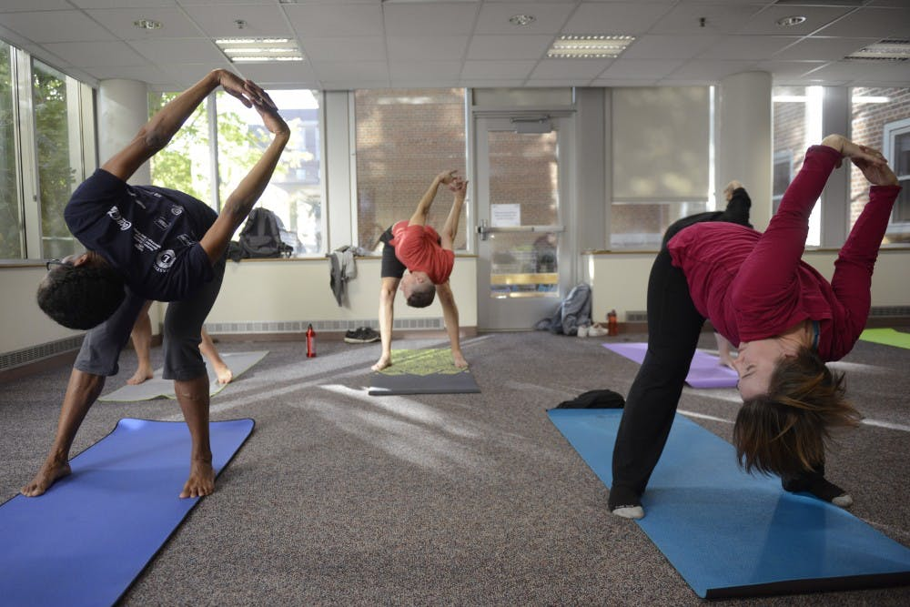 UMN study suggests yoga prevents weight gain