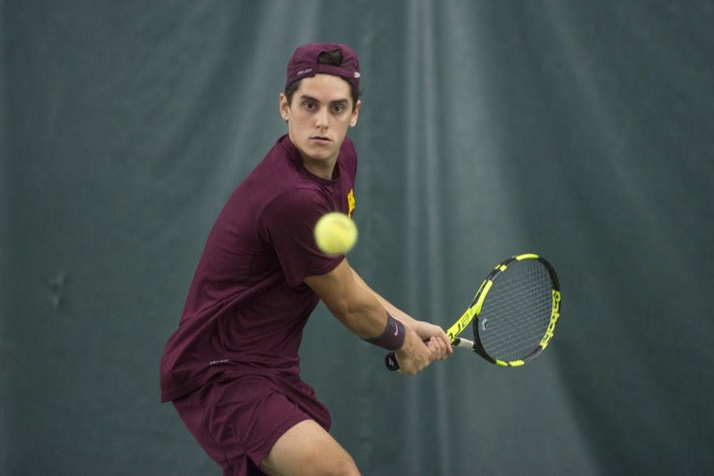 Felix Corwin excels after taking over the No. 1 singles spot