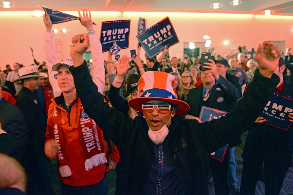 In stirring upset, Donald Trump defeats Hillary Clinton in bid for 45th presidency