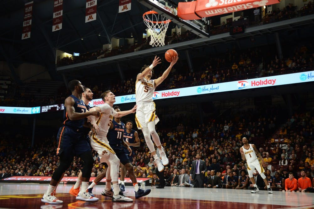 Gophers squander 13-point lead in loss to Purdue