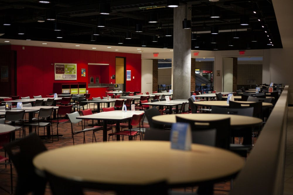 University looks to extend food service contract with Aramark
