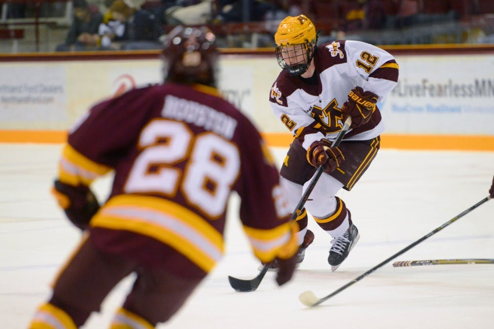 Gophers relying on top line, ready and rested for upcoming matchup versus Bemidji State