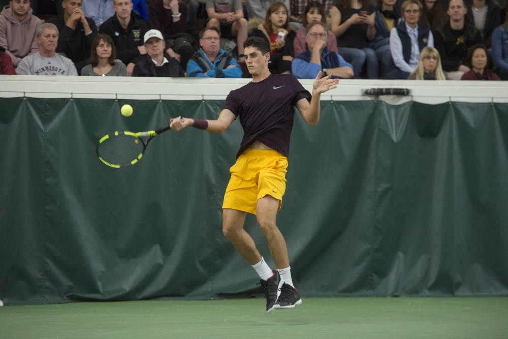 Gophers lose to Ohio State in Big Ten championships semifinals