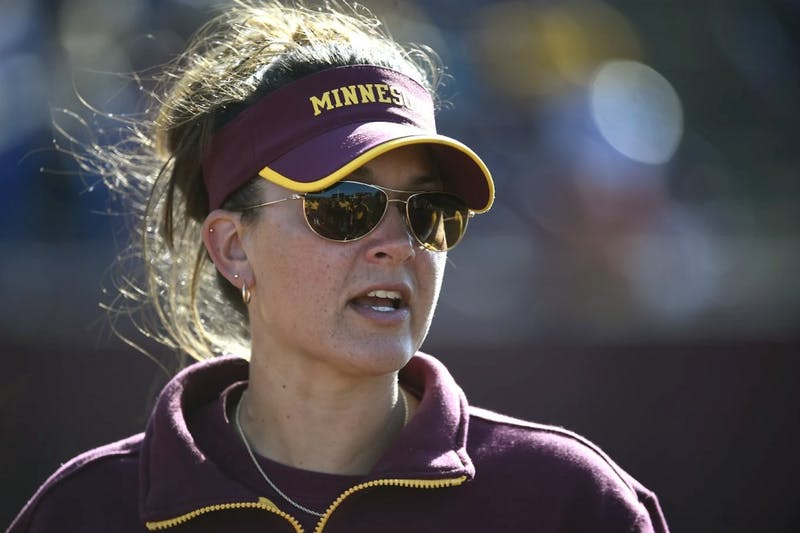 St. Cloud State alumna Jamie Trachsel was named head coach of the University of Minnesota softball team on July 24, 2017.