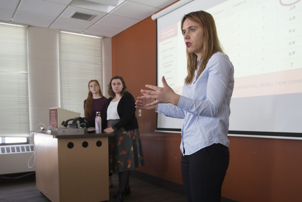Humphrey students create tool for United Nations