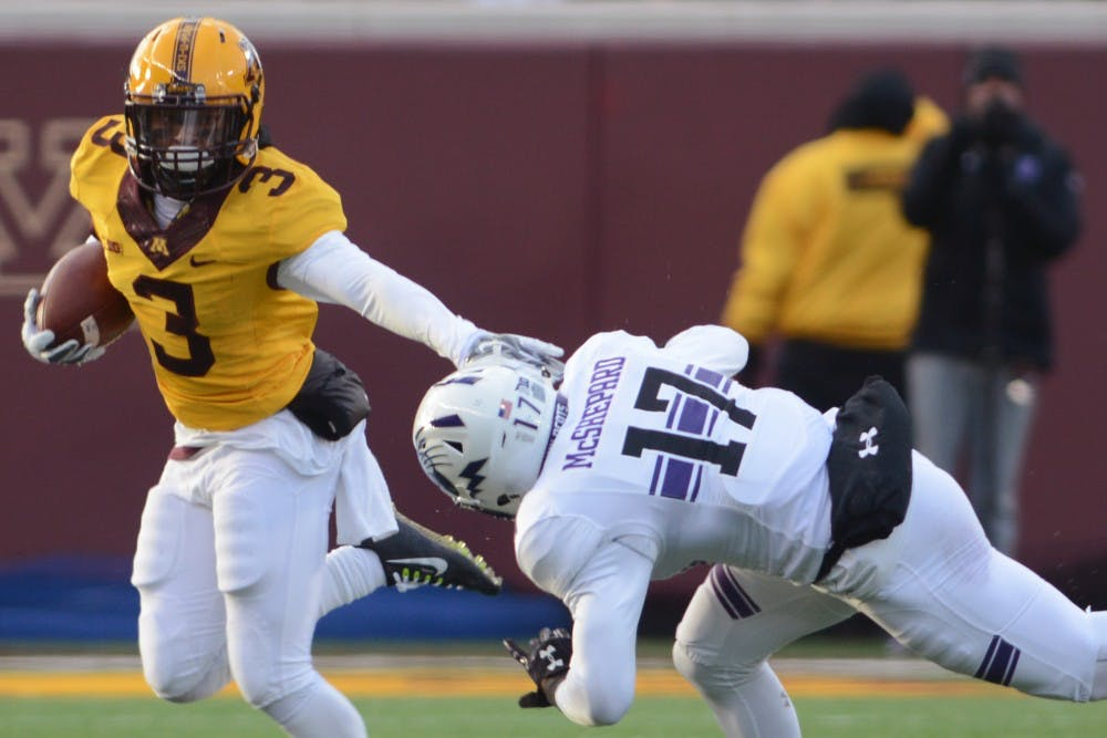 Ten Gophers football players suspended indefinitely