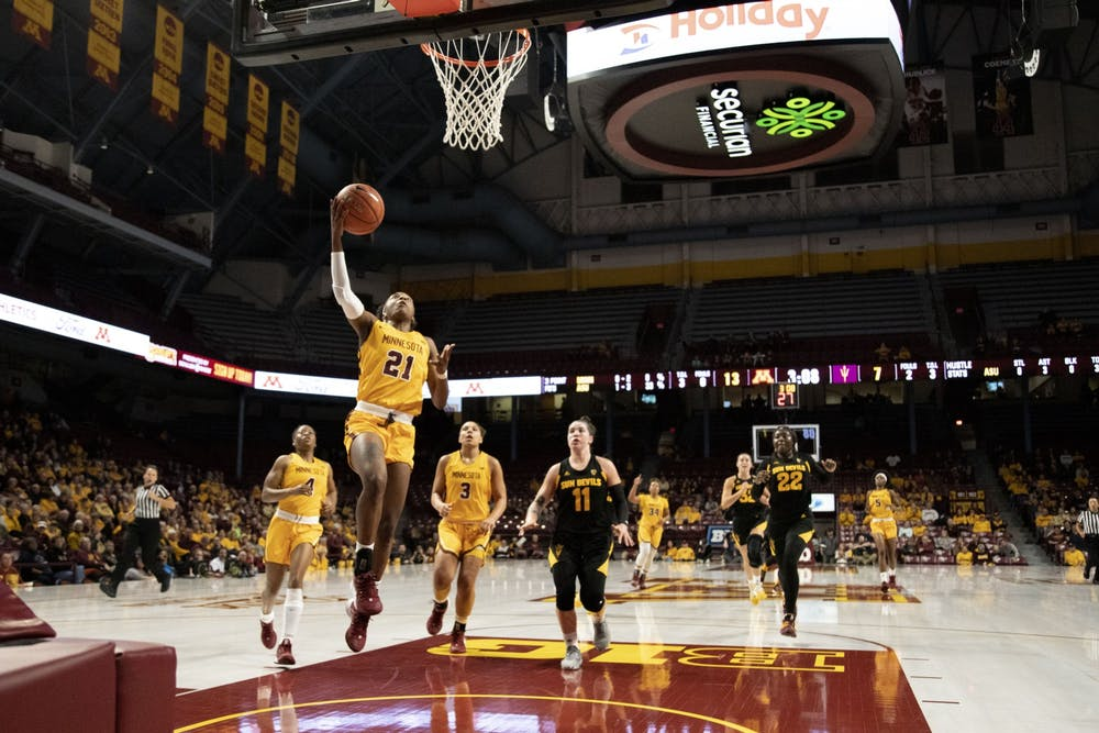 Gophers look to make the most of difficult nonconference schedule