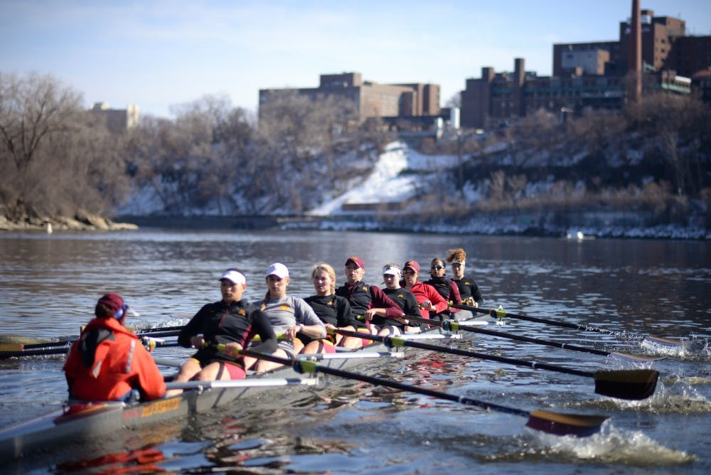 Gophers' boats finish second and fifth in grand final races