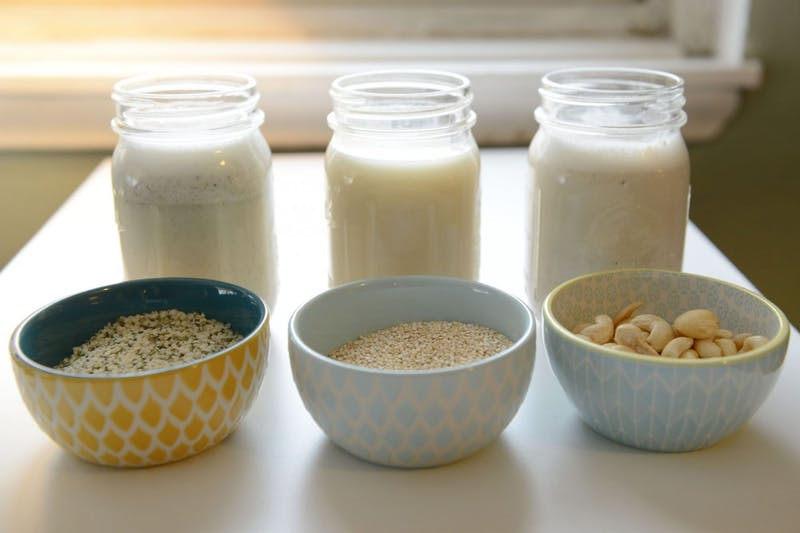 Quinoa, hemp and cashew milk make an easy and refreshing alternative to dairy while also adding a boost of protein to your diet.