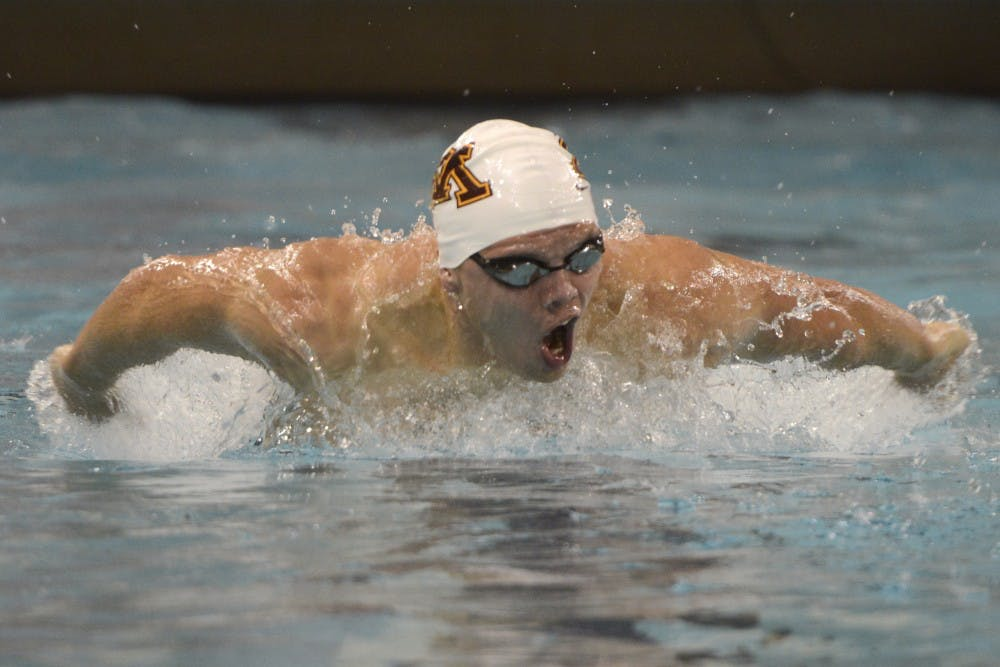Both men's and women's swim and dive win Minnesota Invitational