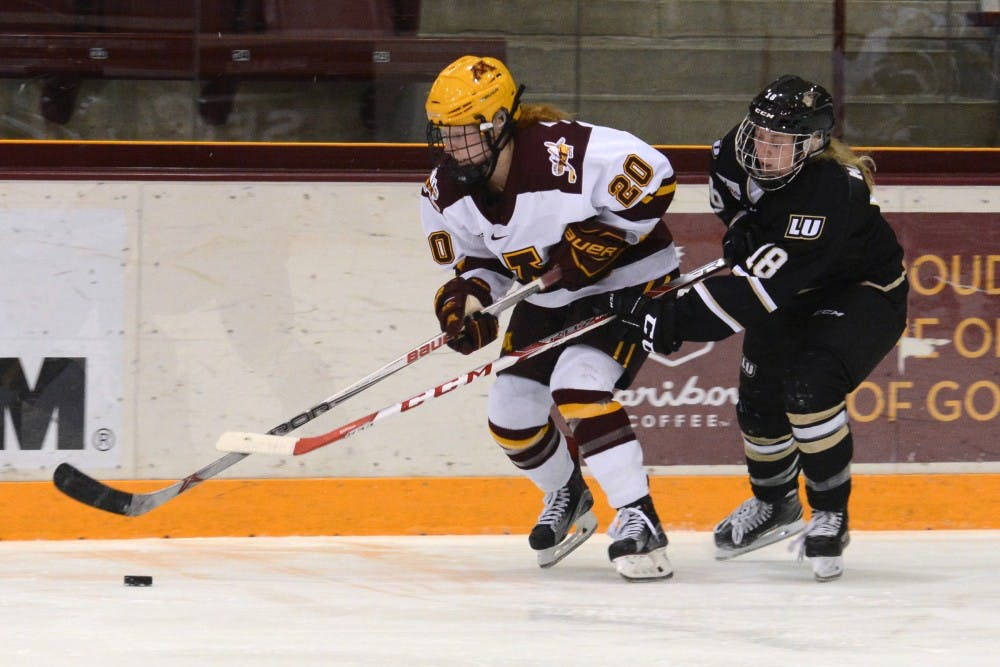 Two Gophers selected by Minnesota Whitecaps in NWHL Draft