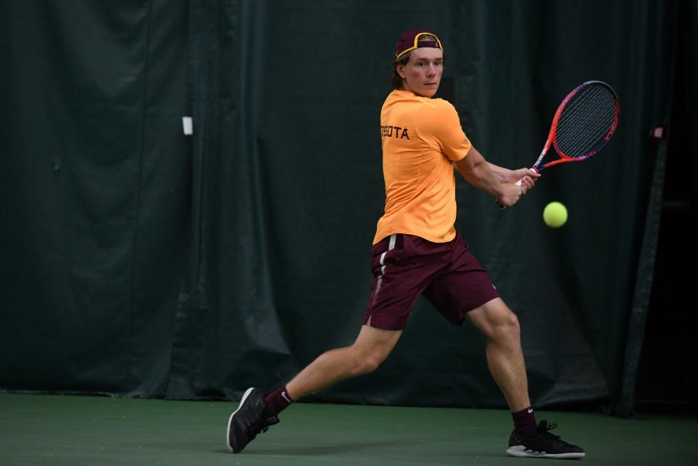 Despite hot start, Gophers drop fourth-straight conference match