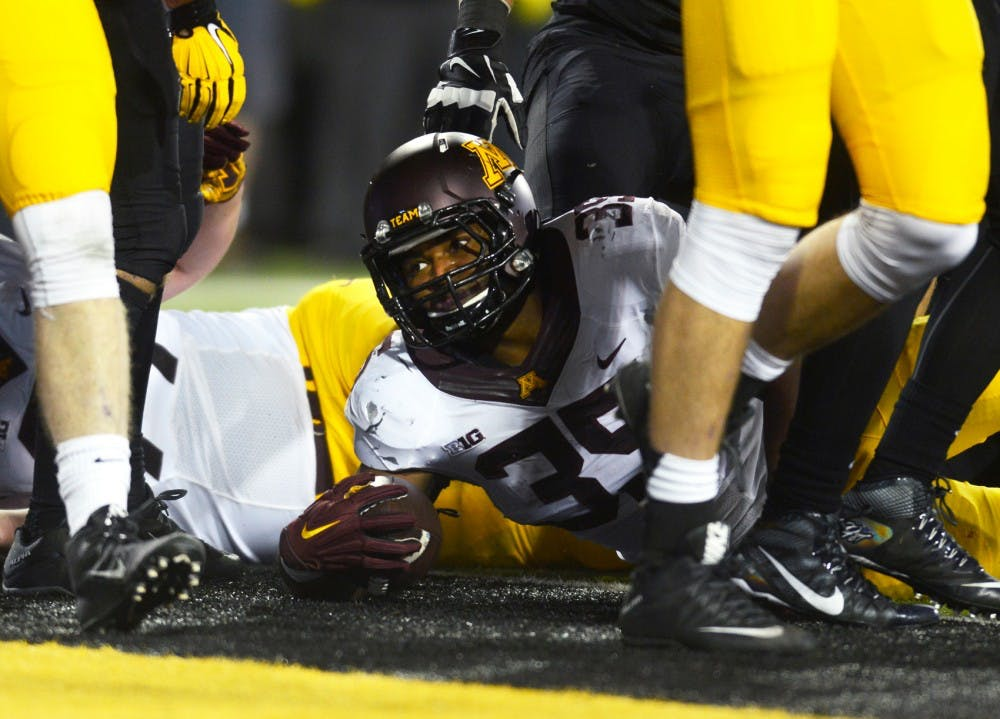 Offense up but defense down for Gophers