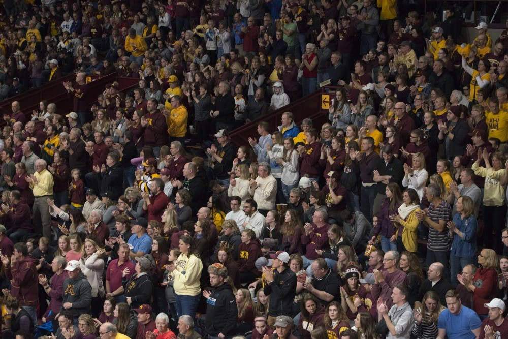 Gophers volleyball takes down Ohio State in five sets