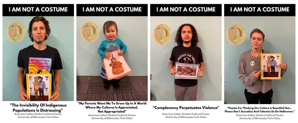 American Indian student group campaign addresses culture appropriation during Halloween