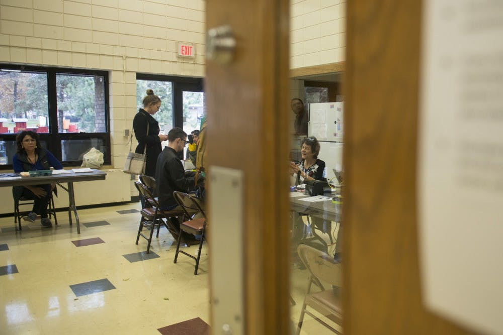 Students contribute to high midterm voter turnout numbers