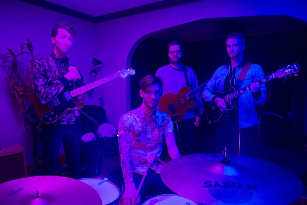 Local rock band Mr. Submissive records new EP; lights local scene on fire