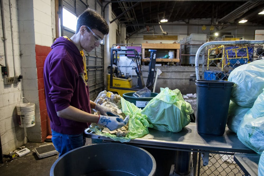 Organics recycling roll-out hits halfway mark on UMN campus