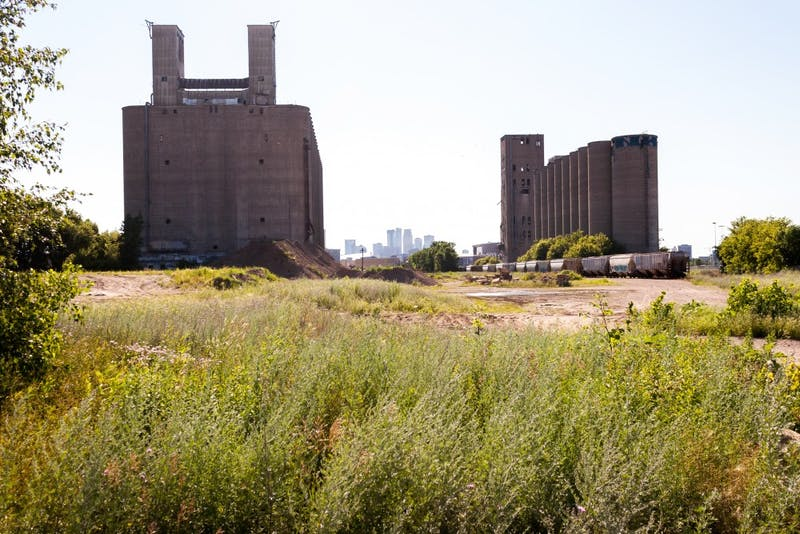Among a host of dead end streets and unused railroad tracks, urban ruins of former industrial businesses are situated throughout Prospect Park North.