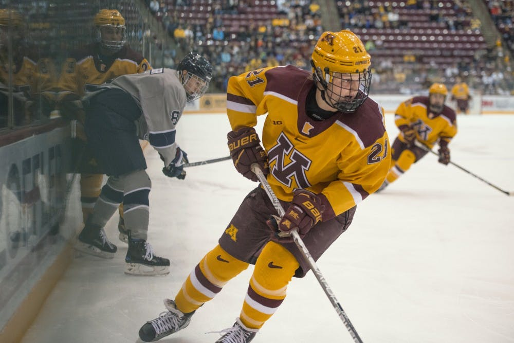 After coming in as a highly touted recruit, Casey Mittelstadt has proven himself at the Division I level
