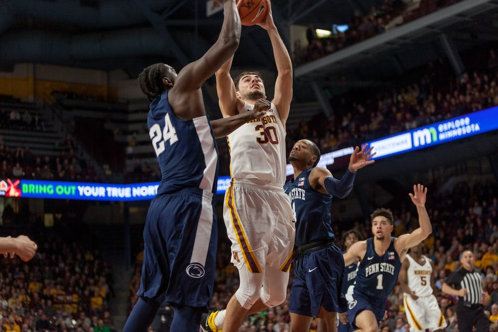 Alihan Demir provides Gophers with front court consistency