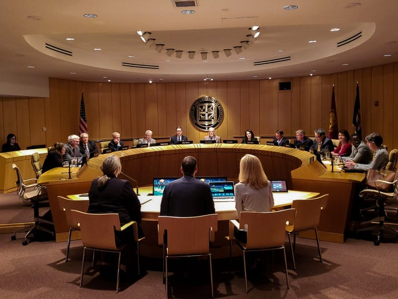 The University's Board of Regents meets on Thursday, July 11 at McNamara Alumni Center in Minneapolis.