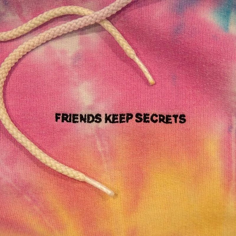 "The album cover for Benny Blanco's new album, ""Friends Keep Secrets."""