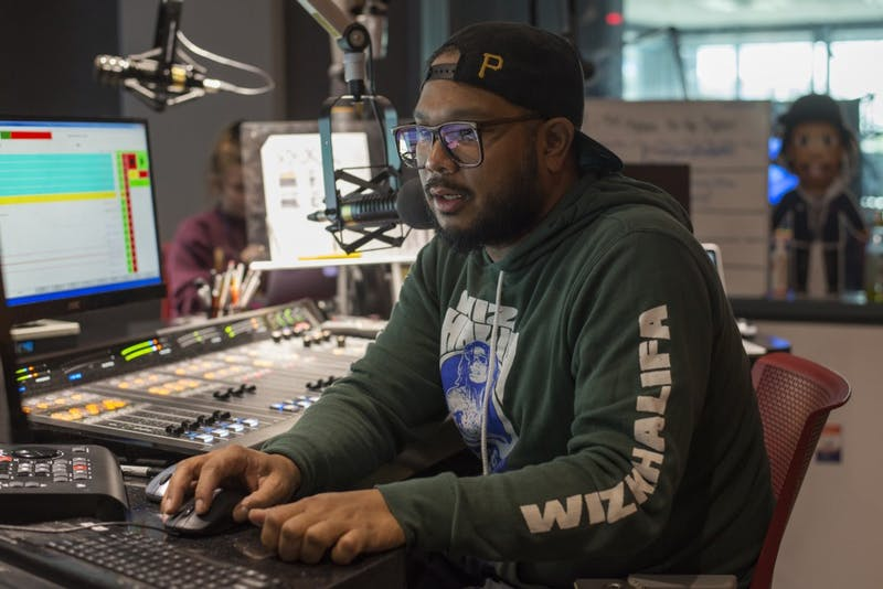 Go 95.3 Radio Host and hip hop DJ, DJ Bonics, wraps up his weekday radio show on Monday, Sept. 24 in Minneapolis. DJ Bonics is also rapper Wiz Khalifa's DJ and their connection brings Khalifa to the Twin Cities often.