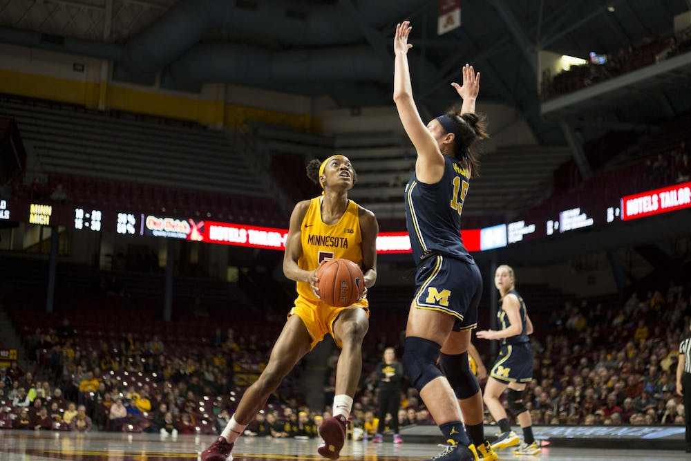 Gophers suffer blowout loss to Michigan