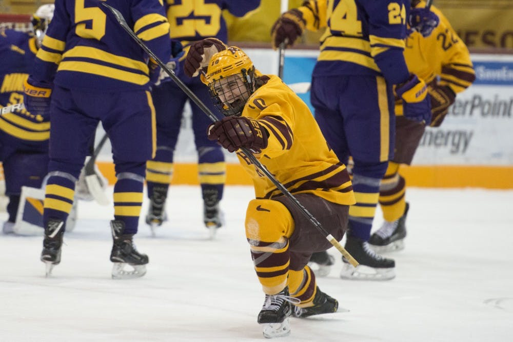 Gophers open up Big Ten play splitting series with Badgers