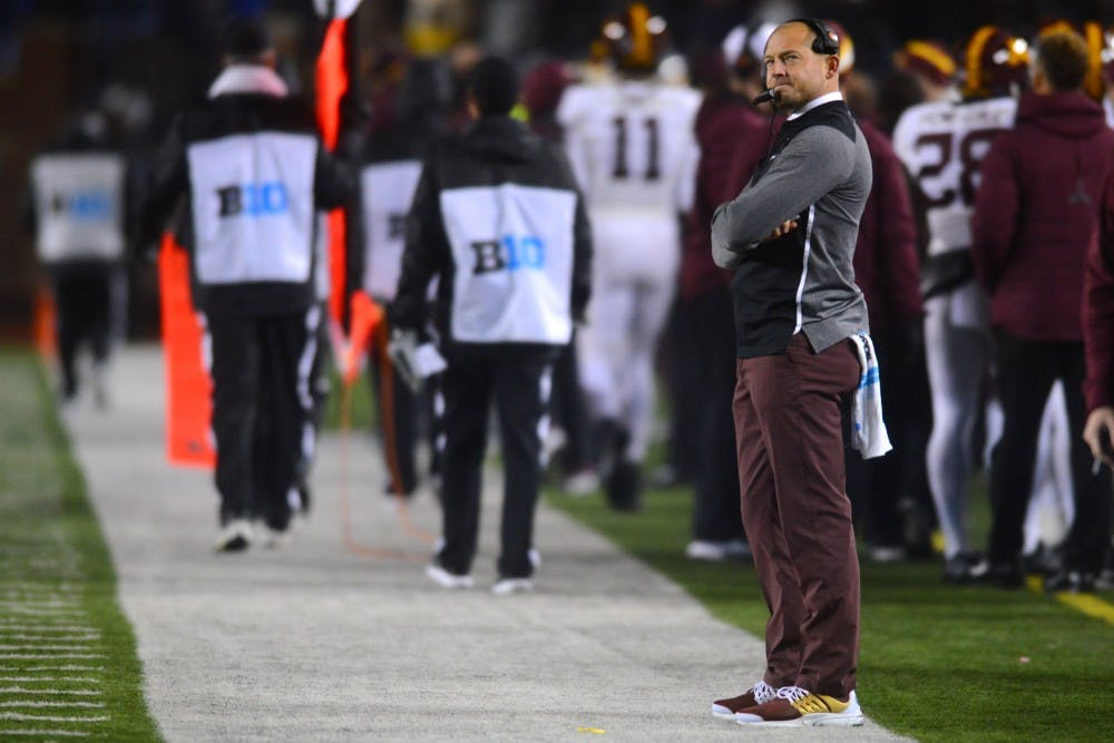 In year two, P.J. Fleck stresses the importance of this year's underclassmen