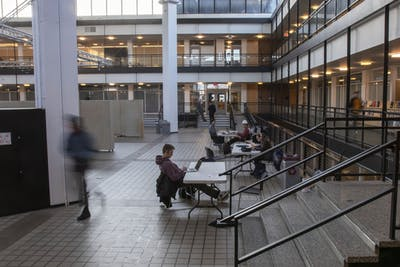 Rapson Hall, home of the College of Design, on the University's Minneapolis campus on Tuesday, Feb. 18.