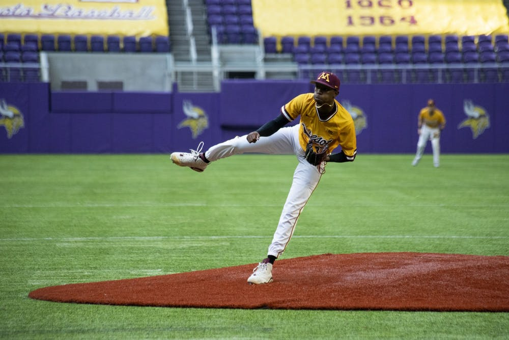 Gophers pitcher Massey continues to make strides