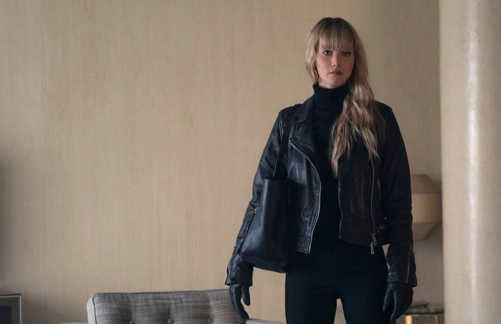 Review: The dynamic brutalism of 'Red Sparrow'
