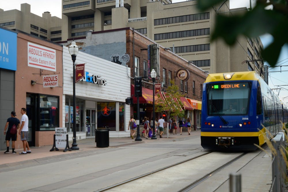 Businesses thrive on Green Line