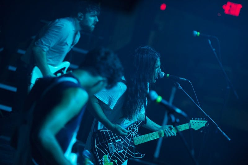 "FIDLAR performs on Friday, Sept. 7 at the First Avenue Mainroom. The band's name is an acronym for, ""Fuck It Dog, Life's a Risk."""