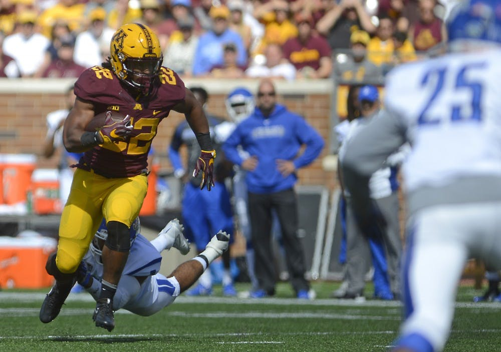 McCrary emerges as third running back option in victory over Indiana State