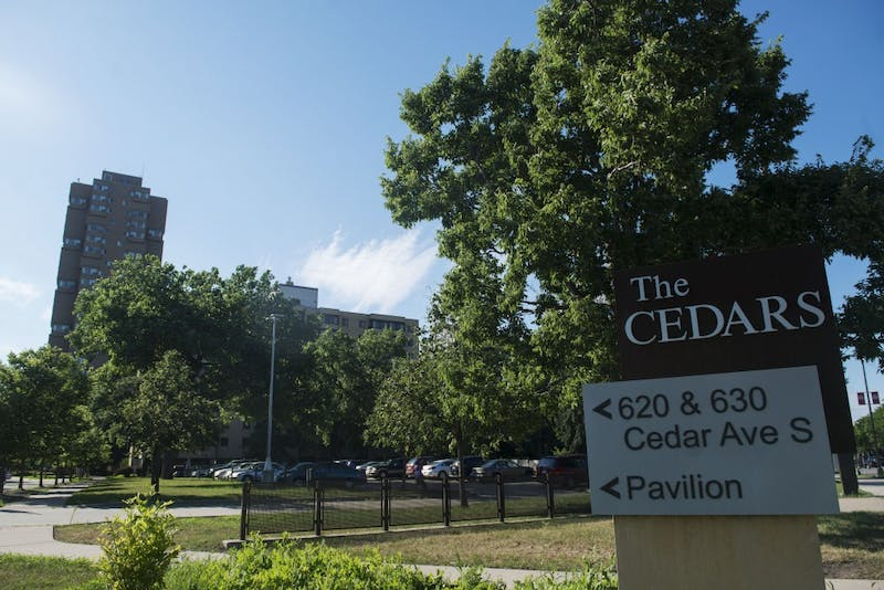The Cedar High Apartments are seen on Monday, July 2 in Minneapolis. The apartment community will soon have $825,000 of heightened security upgrades.
